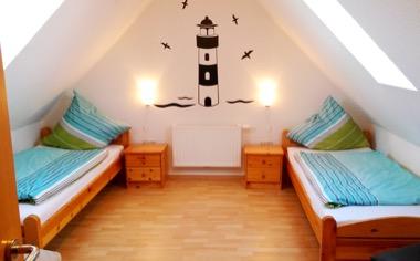 Schlafzimmer - FeWo Seehund