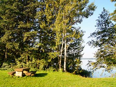 Rastplatz - Camping Wangnitzsee