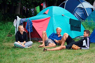 Zelten - Camping Wangnitzsee